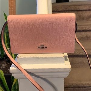 New Authentic COACH FOLDOVER CROSSBODY CLUTCH